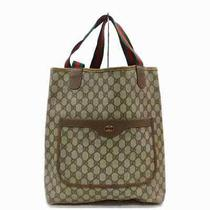 Gucci Tote Bag  Light Brown Pvc 1501551 Photo