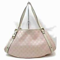 Gucci Tote Bag  Pinks Canvas 1702247 Photo