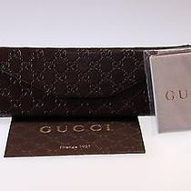 Gucci Unisex Sunglasses Gg1622 D28r6 Shiny Black 63mm Authentic Photo