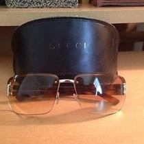Gucci Unisex Sunglasses  Gold & Dark Brown  Gg 1798/n/s  61-15  125 Photo