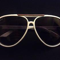 Gucci Unisex Sunglasses White 1627/s Authentic Photo