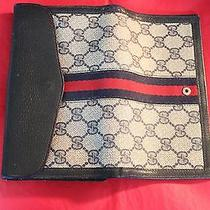 Gucci Vintage Dark Blue Ladies Wallet Photo