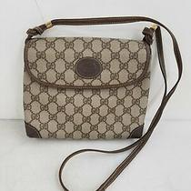 Gucci Vintage Gg Supreme Canvas Crossbody Bag Photo