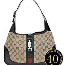 Gucci Vintage - Jackie O Shoulder Bag - Monogram  Photo