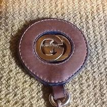 Gucci Vintage Leather Keychain Photo