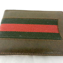 Gucci Vintage Photo Book Brown Leather Photo