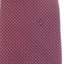 Gucci Vintage  Pure Silk Red Tie  Euc Photo