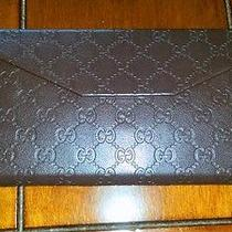 Gucci Vintage Wallet-  Card - Check -Holder  Photo