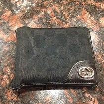 Gucci Wallet Authentic Used Mens Black Photo