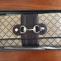 Gucci Wallet Canvas/leather Gucci Bag Photo