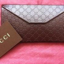 Gucci Wallet Credit Card Holder Business Cards Holder Purse No Reserve See Desc Photo