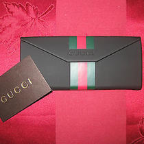 Gucci Wallet Red Green Stripes 6