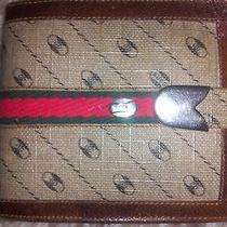 Gucci Wallet Vintage Bifold Kisslock Italy Billfold Rare Purse Small Coin Logo G Photo