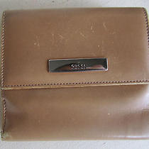 Gucci Wallet Vintage Brown  Leather  Photo