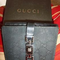 Gucci Wallet With Original Box/ in Black / Made in Italy. Photo