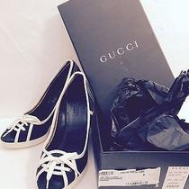 Gucci Wedge Authentic Size 6 Gently Worn Orig. 385 Photo