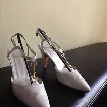 Gucci White Leather Shoes Photo