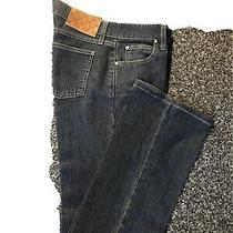 Gucci Women's Denim 70's Bell Bottom Blue Cotton Lyocell Soft Jeans Size 38 Photo