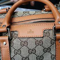 Gucci Women's Small/ Bag 100% Authentic Orange Size 10.2