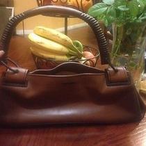 Gucci Wood Handle Bag Photo