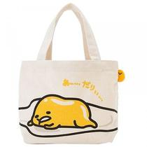 Gudetama Canvas Tote Lunch Shoulder Bag Handbag Purse Sanrio From Japan S2784 Photo