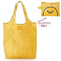 Gudetama Foldable Eco Shopping Bag Tote Handbag Purse Sanrio From Japan S4377 Photo
