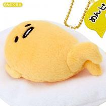 Gudetama Mascot Stuffed Toy Plush Doll Figure Key Chain Sanrio From Japan S2792 Photo