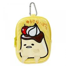 Gudetama Mobile Pouch Purse Coin Case Carabiner Pudding Sanrio From Japan S2783 Photo