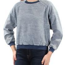 Guess 89 Womens New 1548 Blue Sweatshirt Long Sleeve Crew Neck Top S Bb Photo
