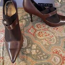 Guess 9.5 9 1/2 Brown Shooties Ankle Boots Booties Shoes Photo