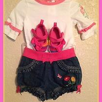 Guess and Gymboree Baby Girl Outfits Photo