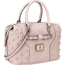 Guess Anja Box Satchel - Blush Photo