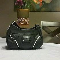 Guess Authentic Black Shoulder Bag Great Gift Photo