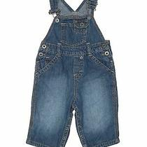 Guess Baby Boys Blue Overalls 6-9 Months Photo