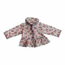 Guess Baby Girls  Cardigan Size 6 Mo  Pink White  Cotton Photo