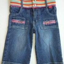 Guess Baby Girls Rainbow Waist Vintage Jeans  Size 18 Months Photo