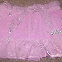 Guess Baby Pink Skirt With Under Shorts for a Baby Girl 18 Months Photo