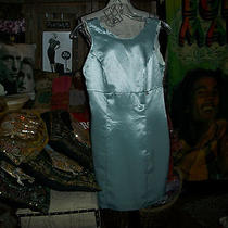 Guess Beautiful Sage Metallic Dress Size 1 Photo