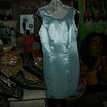 Guess Beautiful Sage Metallic Dress Size 1 Photo