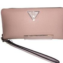 Guess Becca Slg Wallet Women's Original Blush Vg774246 Wristlet Wallet Clutch Photo