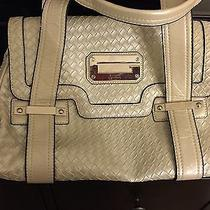 Guess Beige Quilted Purse Photo