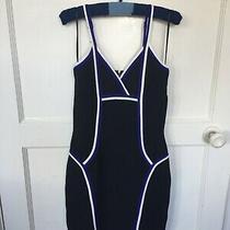 'Guess' Black Body Con Dress - Size 6 Photo