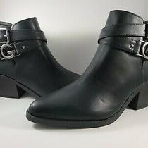 Guess Black Booties New Size 8.5 No Box Really Cute Photo