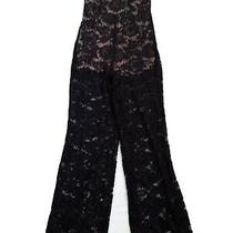 Guess Black  Lace Jumpsuit Size M Photo