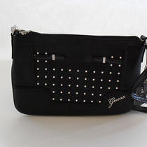 Guess Black Multi Fashion Rumi Mini Clutch Crossbody Brand New Photo