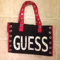 Guess Black & Red Handbag - Cute Photo