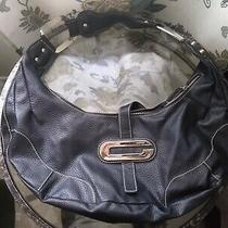 Guess Black Shoulder Handbag Purse Photo