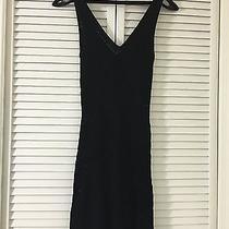 Guess Black Tank Dress (See Through) Medium Photo