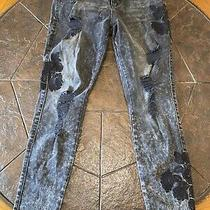 Guess Black Wash Size 29 Jeans Limited Edition Nwot Photo