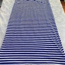 Guess Blue and White Medium Skirt Photo